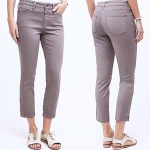 PILCRO AND THE LETTERPRESS Stet Skinny Ankle Jeans